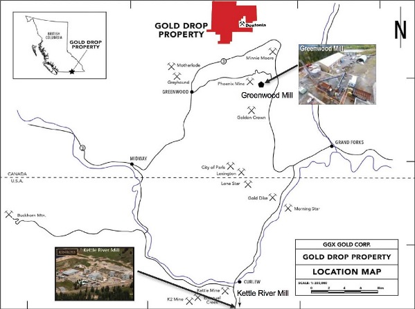 """according to the ni 43-101 technical report on the gold drop property  (2014): """"since custom milling"""