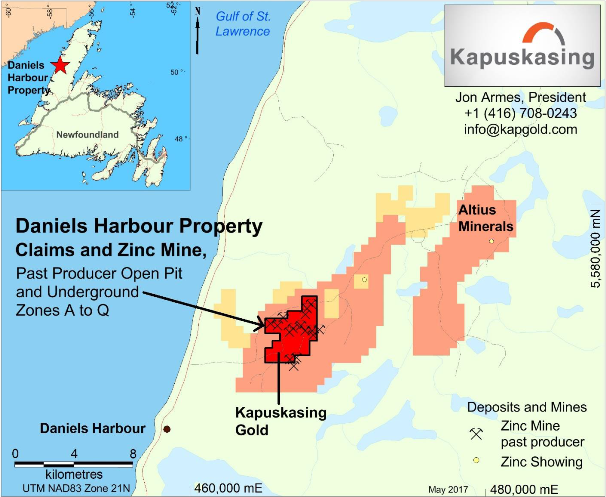What a Scoop! Kapuskasing to Acquire Past Producing Zin...