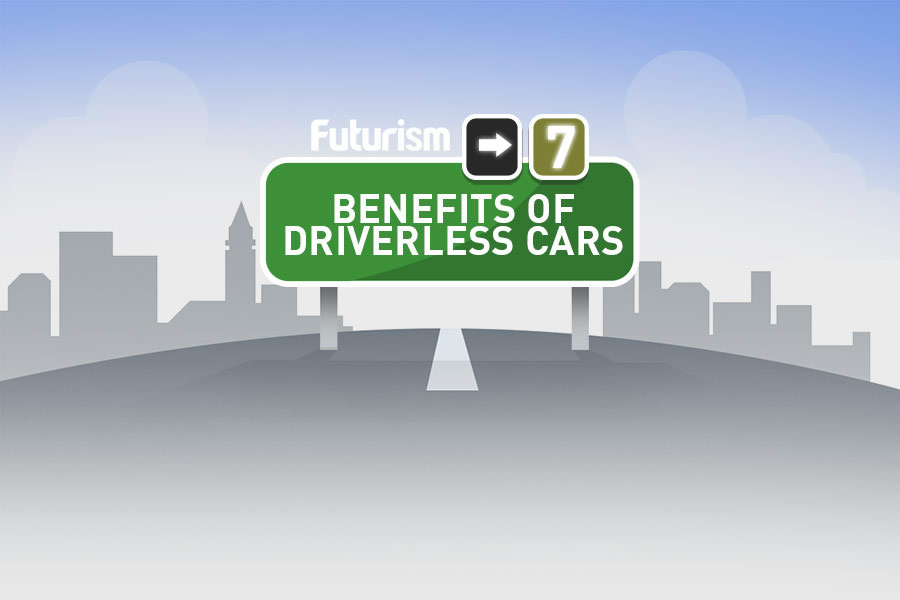 Benefits of driverless cars...