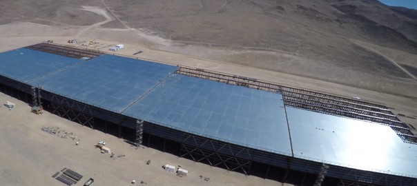 Gigafactory: 30% of output for Tesla energy util...